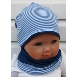 Beanie Mütze Kinder Schal Set