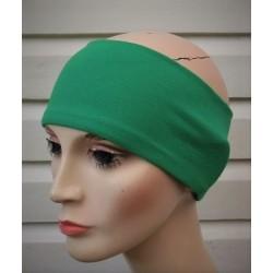 Stirnband Damen Herbst Grün aus Jersey zum Wenden genäht. Viele Farben, KU 54-62 cm