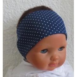 Stirnband Baby Punkte