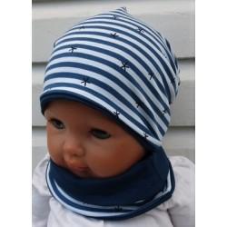 Beanie Mütze Baby Junge Set