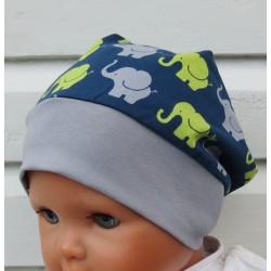 Sommermütze Junge Beanie fürs Baby Kinder mit Jerseybund genäht. Toll für Jungs. KU 39-55 nach Wunsch.