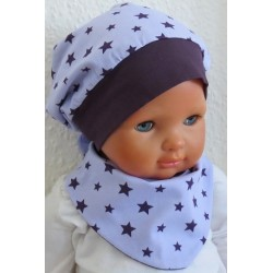 Baby Mütze Mädchen Dreieckstuch Set