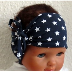 Stirnband Baby Sterne