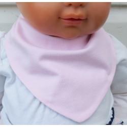 Halstuch Kinder Mädchen Rosa aus Jersey zum Wenden genäht. Ein Stirnband im Shop. Farbe, 0-8 Jahre nach Wunsch