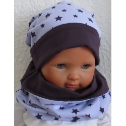 Beanie Mütze Halssocke Kinder
