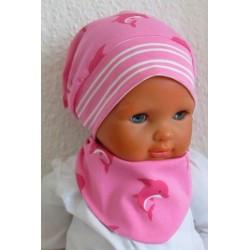 Sommermütze Dreieckstuch Baby Set