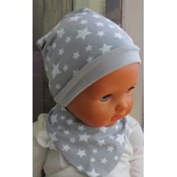 Dreieckstuch Mütze Set Baby Kinder