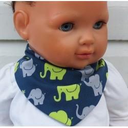 Dreieckstuch Baby Jungen mit schönem Motiv aus Jersey genäht. Zum Wenden. Handmade. 0-10 Jahre nach Wunsch.