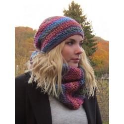 Mütze Schal Set Damen