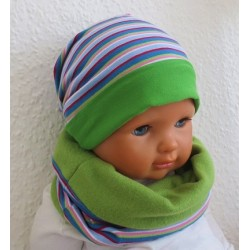 Mütze Schal Set Baby Junge