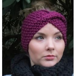 Stirnband Damen gestrickt Winter mit Twister. Liebevolle Handarbeit. Farbe, KU 54-62 cm nach Wunsch.