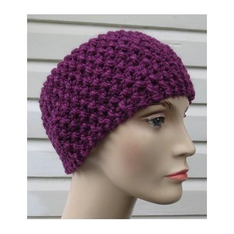 Stirnband Damen gestrickt Perlmuster Winter Wolle. Höhe ca. 12 cm. Handarbeit. Farbe, KU 54-62 nach Wunsch.