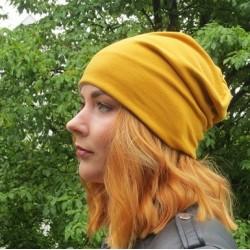 Jersey Mütze Beanie Damen